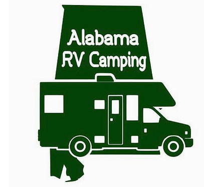 "Alabama Class C Motorhome 6"" Decal"