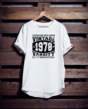 Varsity Vintage2 tshirt