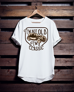 I'm not old I'm Vintage Tshirt