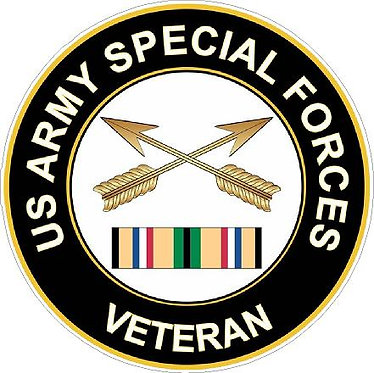 United States Army Special Forces Vinyl Decal