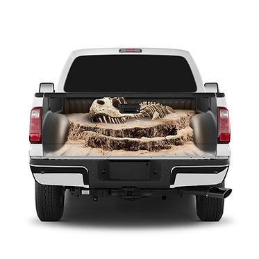 T Rex Fossil Tailgate Wrap Window Decal