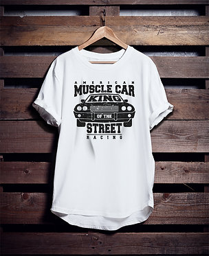 Muscle Car Street tshirt