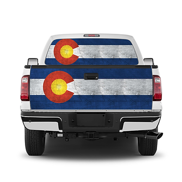 Rustic Colorado Flag