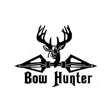 Bow Hunter Vinyl Decal