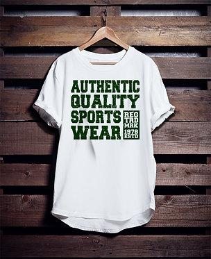 Authentic Quality Sports Wear tshirt