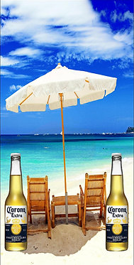 Corona Beach Chairs Wrap Set