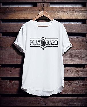 Play Hard Football tshirt