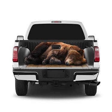 Bear Hunting Tailgate Wrap Window Decal
