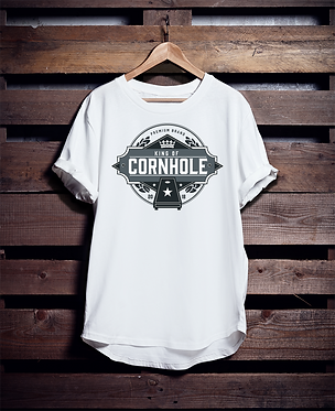 King of Cornhole Shirt