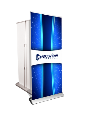 Deluxe Banner Stand - Custom Design and Hardware Included