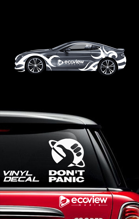 window sticker, car graphics