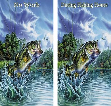 Fishing Bass Wrap Set