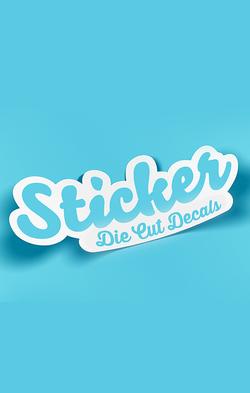 make a sticker, custom decal