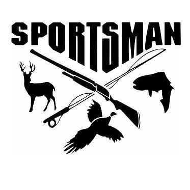 Sportsman Vinyl Decal