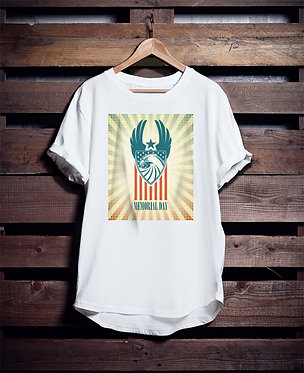 USA Memorial Day tshirt