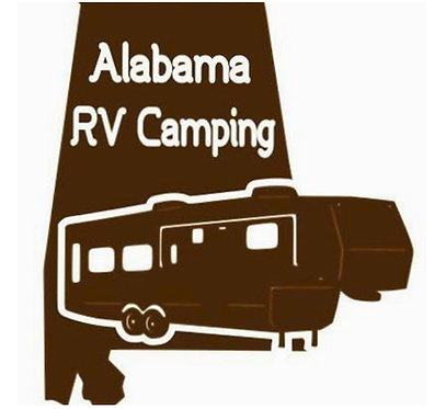 Alabama RV Camping Fifth Wheel Decal 6""