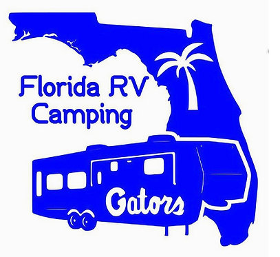 Florida RV Camping Gators Fifth Wheell 6""