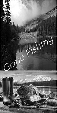 Gone Fishing Wrap Set