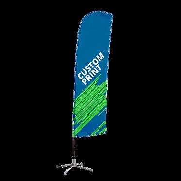 Blade Flag - Custom Design and Hardware