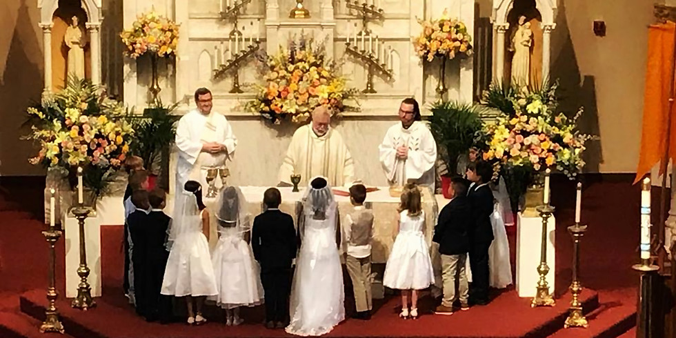 First Eucharist Celebration Mass