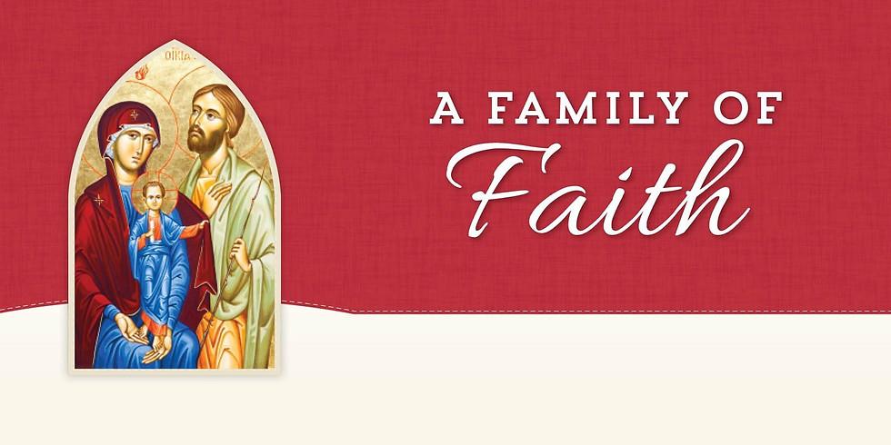 Families of Faith - Online Registration Open