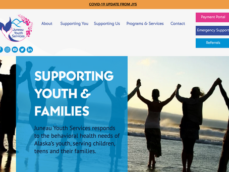 Juneau Youth Services Debuts New Brand and Website