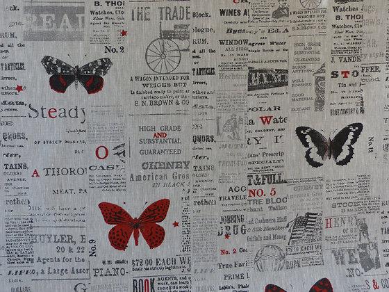 Papillons imprimés