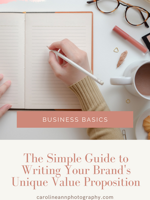 The Simple Guide to Writing Your Brand's Unique Value Proposition