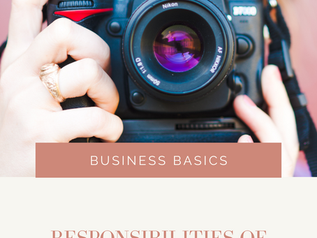 Responsibilities of Starting a Creative Business