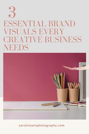 Three Essential Brand Visuals Every Creative Business Needs