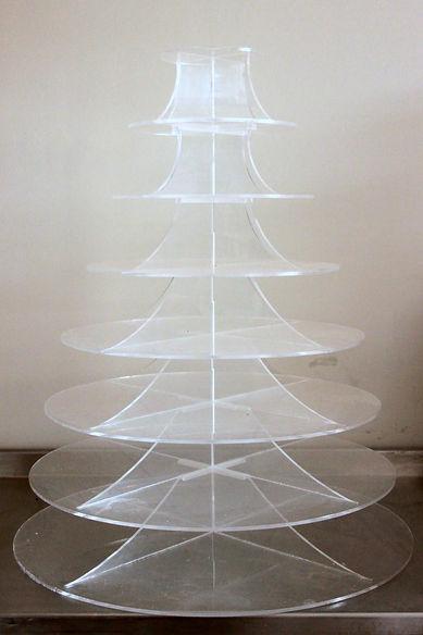 Acrylic Cupcake tower stand
