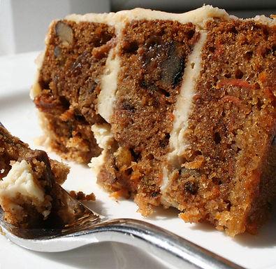 Zesty carrot cake