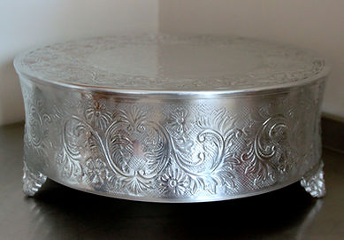 Silver Weding cake stand