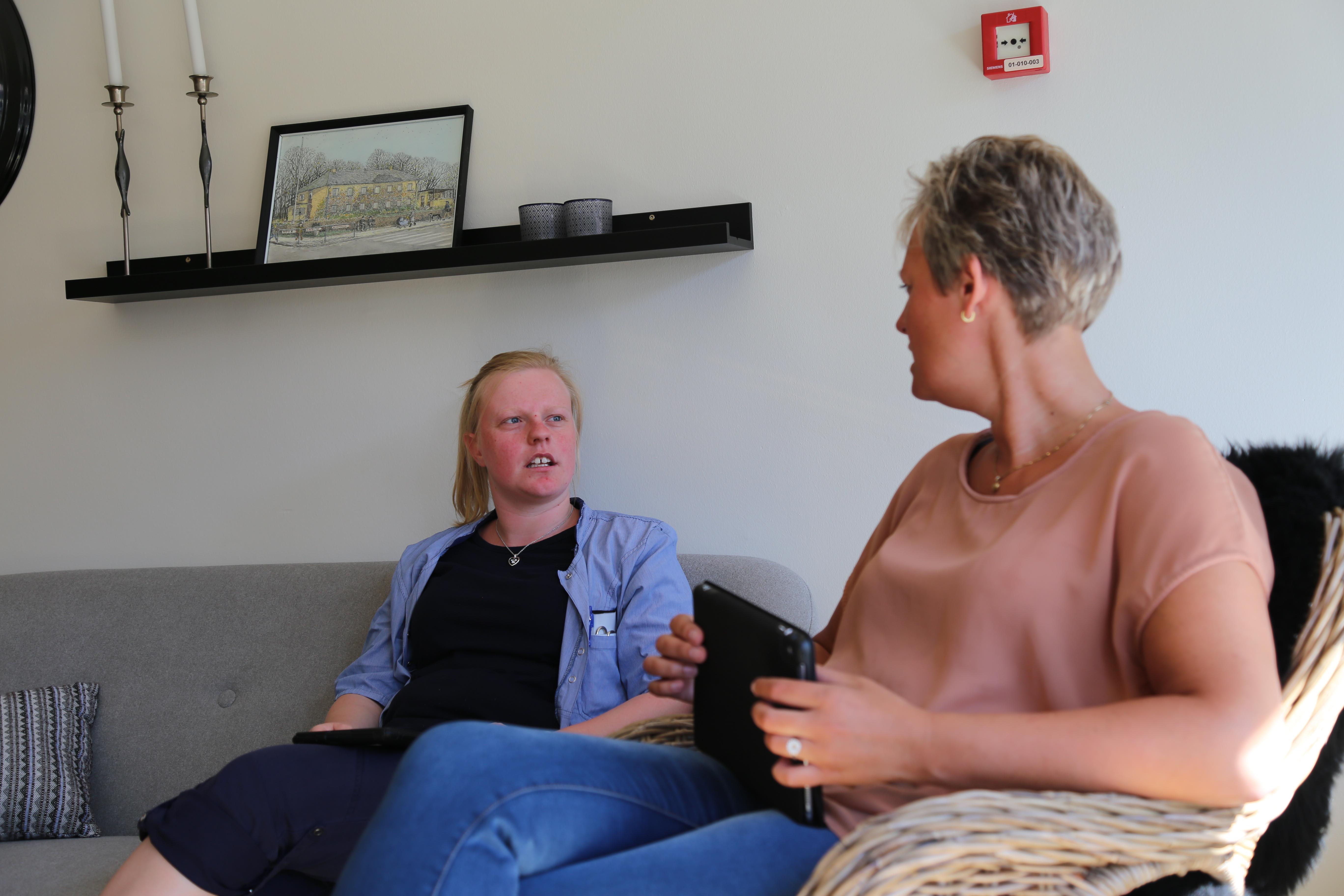 Udvikling af samarbejdet med pårørende på plejehjem