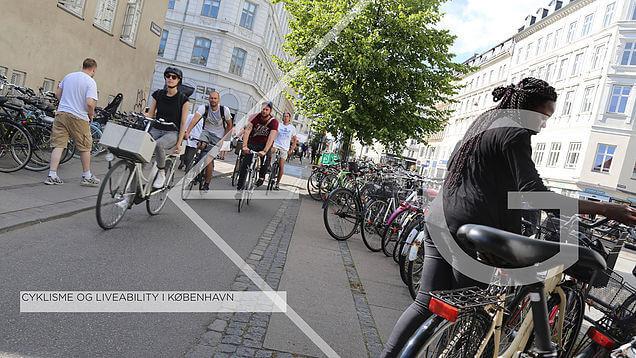 Oplæg om cyklisme og liveability