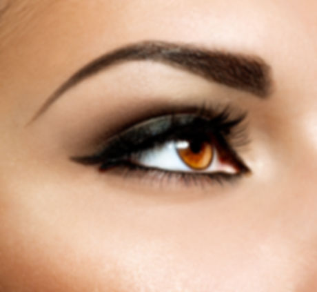 Brown Eye Makeup. Eyes Make-up. Beautifu