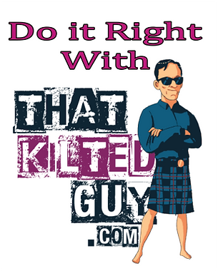 That Kilted Guy final logo v1 with Do it