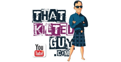 That kilted guy logo with youtube wide s