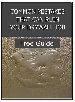 Mistakes that ruin your drywall job cove