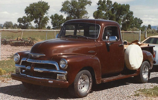 54 Chevy 5 Window Truck