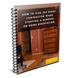 How to hire a contractor book cover desi
