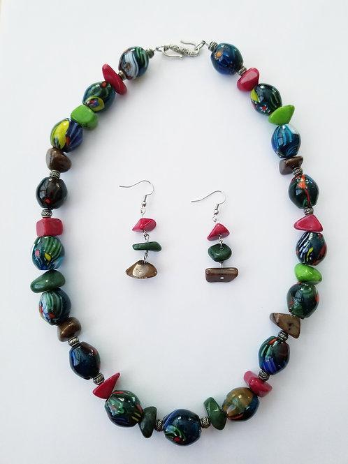 Nancy Necklace & Earring Set
