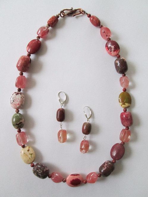 Caroline Necklace & Earring Set