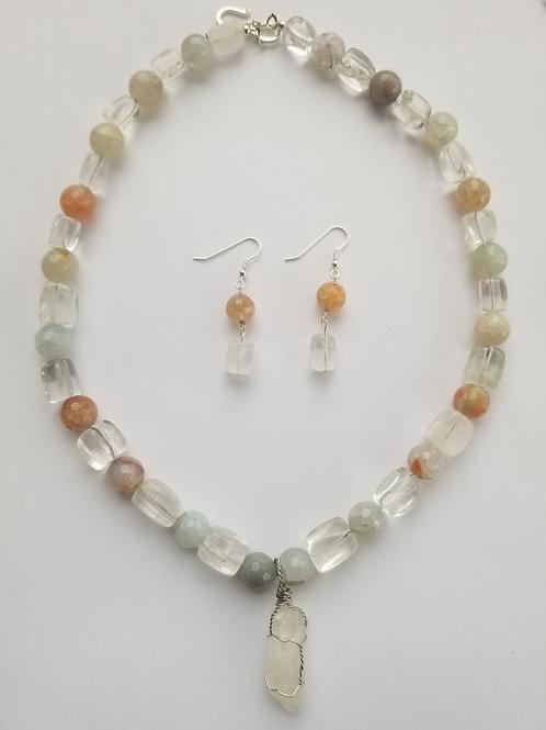 Imogene Necklace & Earring set