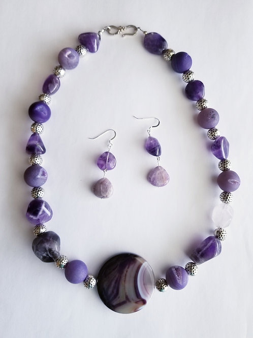 Tamara Necklace and Earring Set