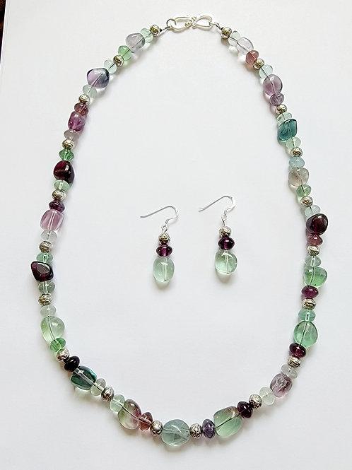 Merlene Necklace & Earrings