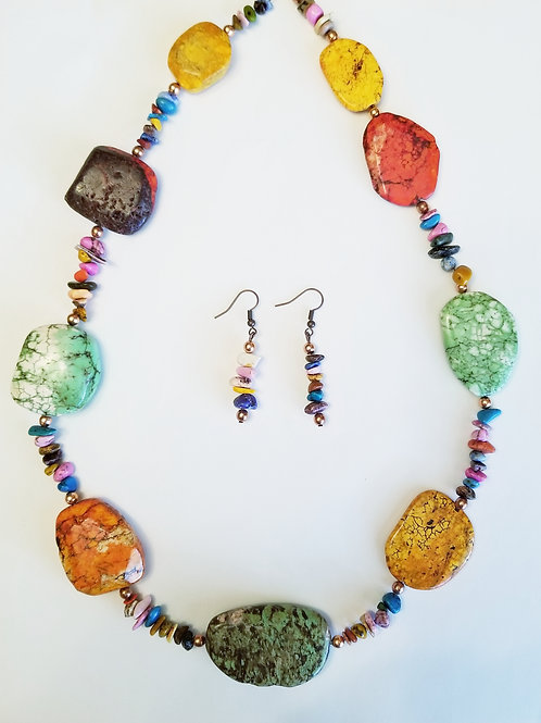 Renee Necklace and Earring Set