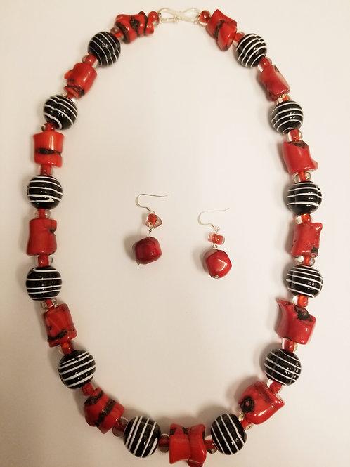 Janice Necklace & Earring Set