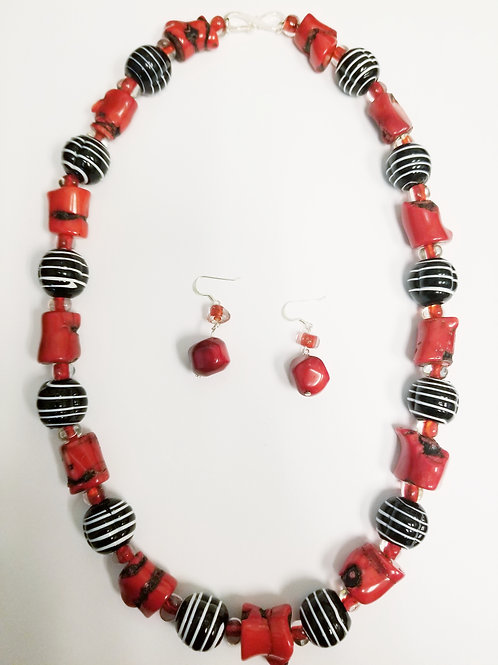 Janice Necklace & Earring Set