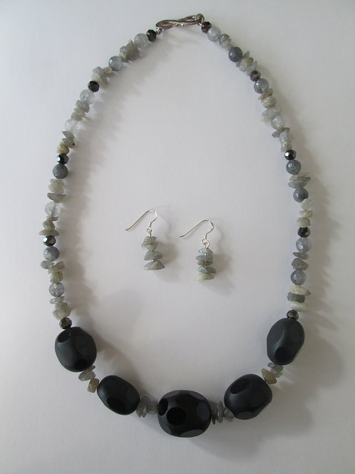 M.E. Necklace & Earring Set